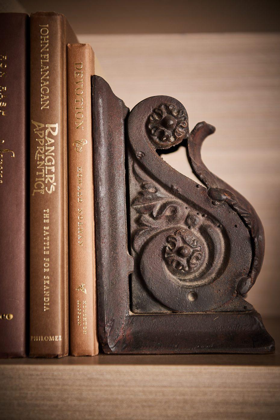 bronze corbel bookend
